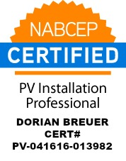 Dorian Breuer NABCEP PV Seal