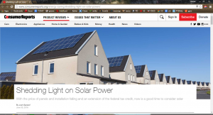 consumer reports solar article