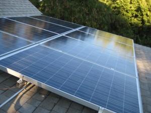 Ailey Solar Installation, June 2013